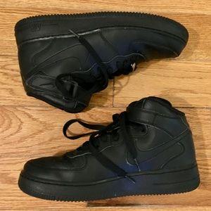 Nike Air Force 1 Black High Tops